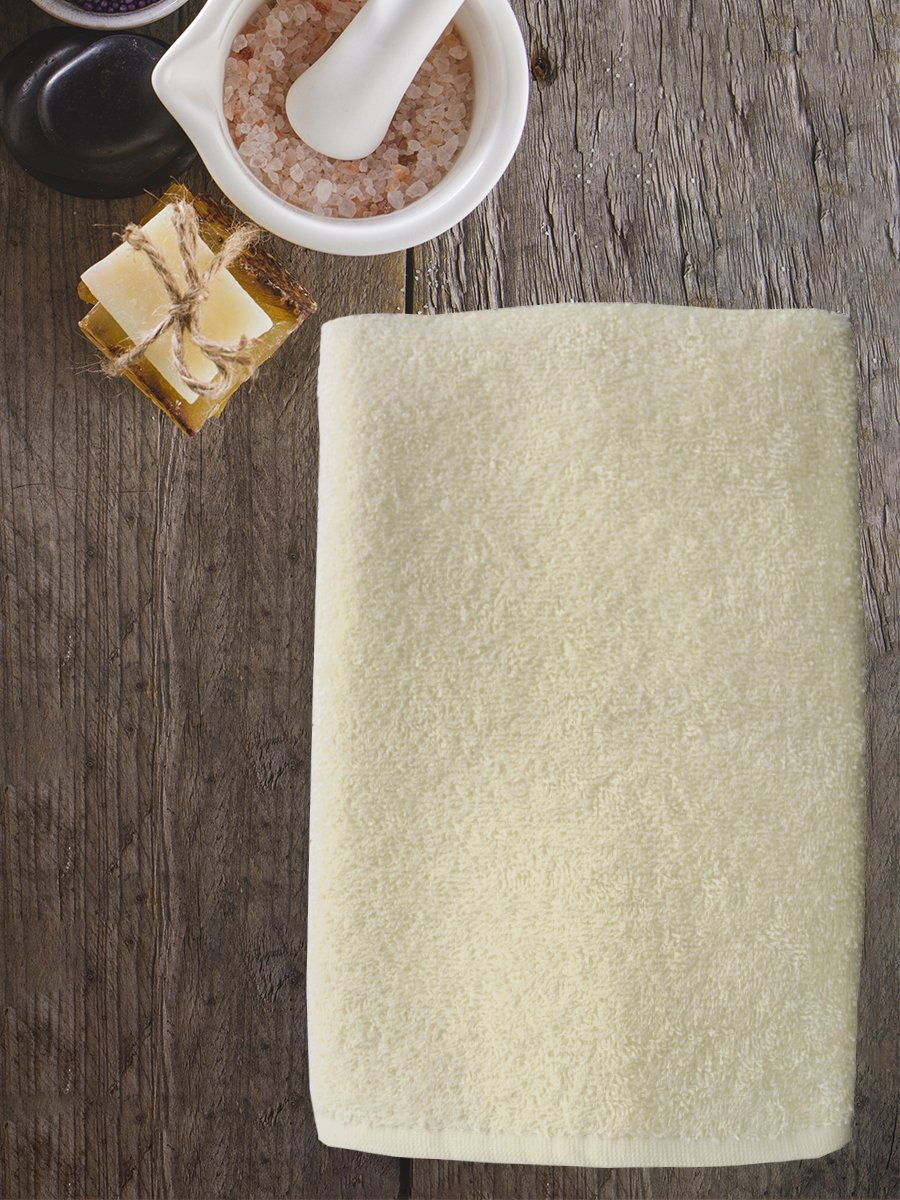 Полотенце махровое Amore Mio AST Cotton, молочный (tr-200734-gr)