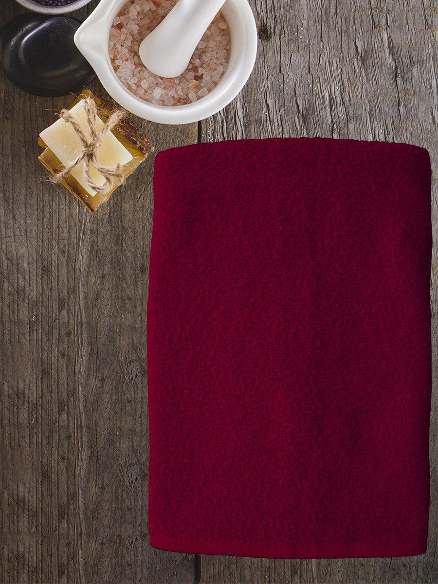 Полотенце махровое Amore Mio AST Cotton, бордовый (tr-200729-gr)