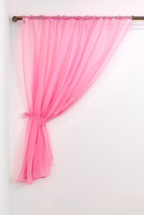 """Тюль """"Розовый"""", 290*180 см (s-102839)"""