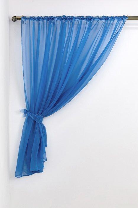 """Тюль """"Голубой"""", 290*180 см (s-102838)"""