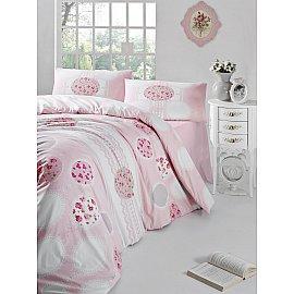 """Комплект постельного белья """"RANFORCE BELIN"""" (2 спальный), розовый"""