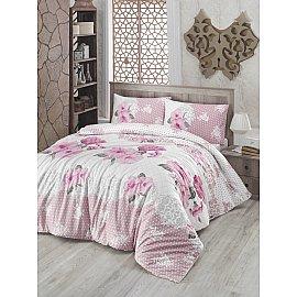 """Комплект постельного белья """"RANFORCE GULDEM"""" (2 спальный), розовый"""