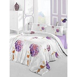 """Комплект постельного белья """"RANFORCE HIDRA"""" (2 спальный), фиолетовый"""