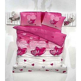 """Комплект постельного белья """"RANFORCE LOVELIY"""" (2 спальный), сиреневый"""