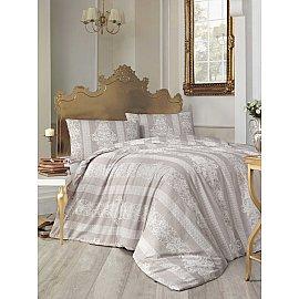 """Комплект постельного белья """"RANFORCE NOBBY"""" (2 спальный), коричневый"""