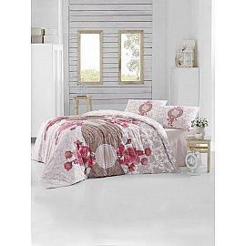 """Комплект постельного белья """"RANFORCE ROSEN"""" (2 спальный), коричневый"""
