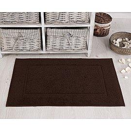 """Махровое полотенце для ног """"KARNA GREN"""", темно-коричневый, 50*70 см"""