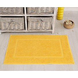 """Махровое полотенце для ног """"KARNA GREN"""", желтый, 50*70 см"""