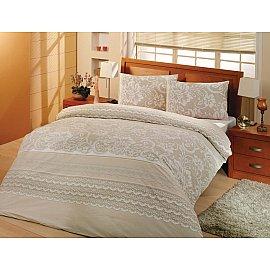 """Комплект постельного белья """"RANFORCE NATURA"""" (2 спальный), кремовый"""