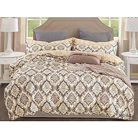 КПБ Сатин набивной Люкс дизайн 401 (1.5 спальный)