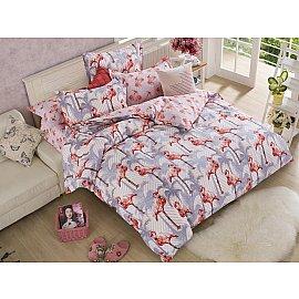 КПБ Сатин набивной Люкс дизайн 482 (2 спальный)