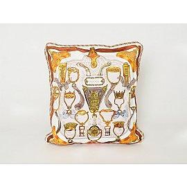 Наволочка декоративная Пальметта дизайн 010, 45*45 см