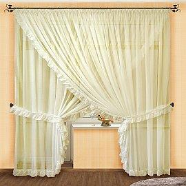 Комплект штор №014 Шампань