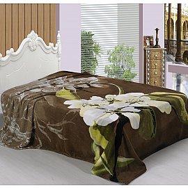 Плед Pano design №09, коричневый, 160*220 см