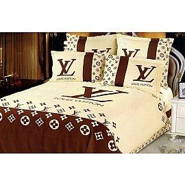 КПБ Сатин дизайн LV (1.5 спальный)