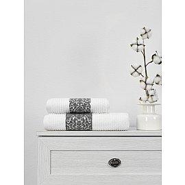 Полотенце махровое TexRepublic Cotton Barok, белый, 70*130 см