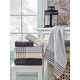 Комплект махровых полотенец TexRepublic Bamboo Marcus, 70*130 см - 3 шт
