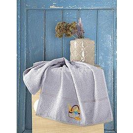 "Полотенце кухонное махровое ""KARNA BREAKFAST"", серый, 45*70 см"