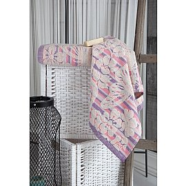 """Полотенце махровое """"KARNA MARIPOSA"""", розовый, 100*150 см"""