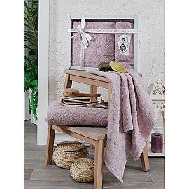 Комплект махровых полотенец Philippus Sveta (50*90; 70*140), светло-розовый