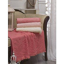 Комплект бамбуковых полотенец DO&CO DAMASK, 70*140 см - 4 шт