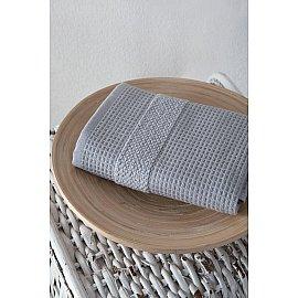 """Полотенце кухонное микрокотон двухсторонний """"TRUVA"""", серый, 40*60 см"""