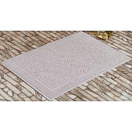 """Махровое полотенце для ног """"KARNA ESRA"""", серый, 50*70 см"""