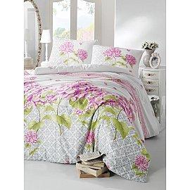 """Комплект постельного белья """"RANFORCE LARIN"""" (1.5 спальный), сиреневый"""