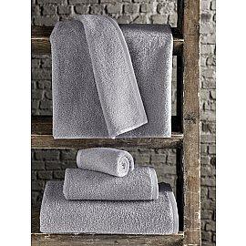 "Полотенце махровое ""KARNA EFOR"", серый, 90*150 см"