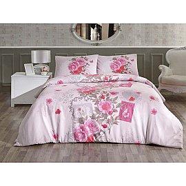 """КПБ """"RANFORCE SARDINYA"""" (1.5 спальный), розовый"""