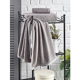 "Полотенце махровое ""KARNA EFOR"", серый, 70*140 см"