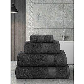 """Полотенце кухонное махровое """"KARNA AREL"""", темно-коричневый, 30*50 см"""