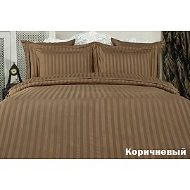 Комплект постельного белья KARNA PERLA Бамбук (2 спальный), коричневый