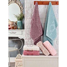 Комплект махровых полотенец TWO DOLPHINS MELISSA, 50*90 см - 6 шт