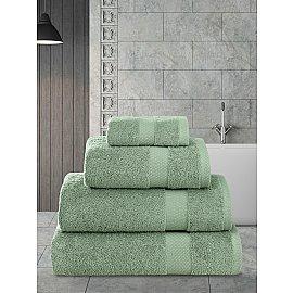"""Полотенца махровое """"KARNA AREL"""", зеленый, 100*150 см"""