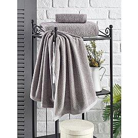 """Полотенце кухонное махровое """"KARNA EFOR"""", серый, 40*60 см"""
