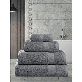 """Полотенца махровое """"KARNA AREL"""", серый, 50*100 см"""