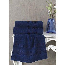 """Полотенце махровое """"KARNA REBEKA"""", синий, 100*150 см"""