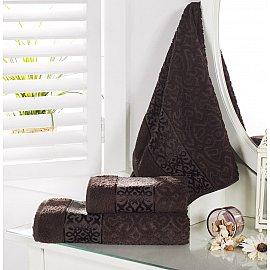 """Полотенце махровое """"KARNA SAHRA"""", коричневый, 70*140 см"""