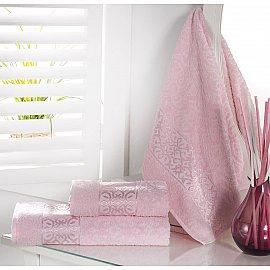"""Полотенце махровое """"KARNA SAHRA"""", розовый, 70*140 см"""