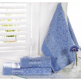 """Полотенце махровое """"KARNA SAHRA"""", голубой, 70*140 см"""