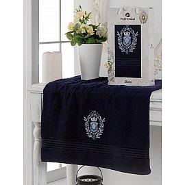 Полотенце махровое в коробке Merzuka Boss, синий, 50*80 см