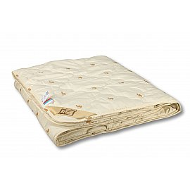 """Одеяло """"Сахара"""", всесезонное, бежевый, 140*205 см"""