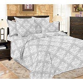 КПБ мако-сатин печатный Classic (2 спальный), серый
