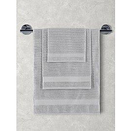 """Полотенца махровое """"KARNA FLOW"""", серый, 50*90 см"""