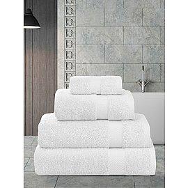 """Полотенца махровое """"KARNA AREL"""", белый, 100*150 см"""