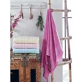 Комплект бамбуковых полотенец DO&CO LAVENDER, 70*140 см - 4 шт