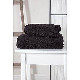 """Полотенце махровое """"KARNA APOLLO"""", черный, 45*60 см"""