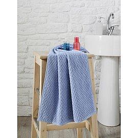"""Полотенце махровое с жаккардом """"KARNA DAMA"""", голубой, 50*90 см"""