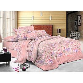 КПБ сатин пигмент Gold Jill (2 спальный), розовый